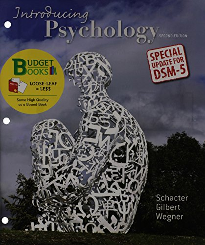 Introducing Psychology  2nd 2014 (Revised) edition cover
