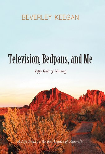 Television, Bedpans, and Me: A Life Lived in the Red Centre of Australia  2012 edition cover