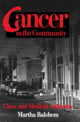 Cancer in the Community Class and Medical Authority  1993 edition cover