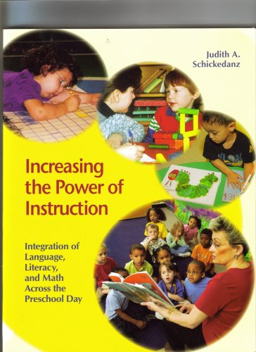 Increasing the Power of Instruction Integration of Language, Literacy, and Math Across the Preschool Day N/A edition cover