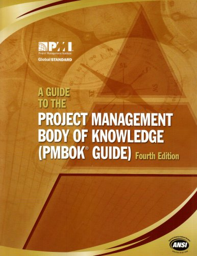 Guide to the Project Management Body of Knowledge (PMBOK Guide) 4th 2008 9781933890517 Front Cover