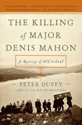 Killing of Major Denis Mahon A Mystery of Old Ireland  2011 edition cover