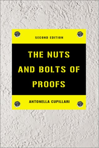Nuts and Bolts of Proofs  2nd 2001 (Revised) edition cover