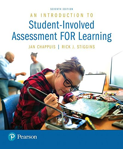 Introduction to Student-involved Assessment for Learning + Myeducationlab With Enhanced Pearson Etext Access Card:   2016 9780133436518 Front Cover