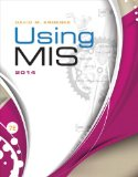 Using MIS 2014  7th 2015 edition cover
