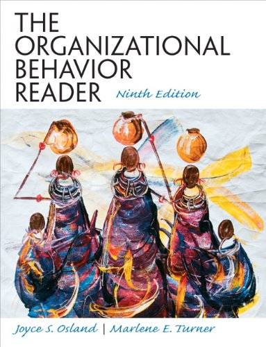 Organizational Behavior Reader  9th 2011 (Revised) edition cover