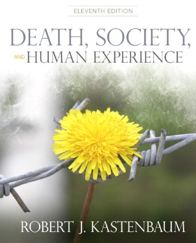 Death, Society and Human Experience  11th 2012 edition cover
