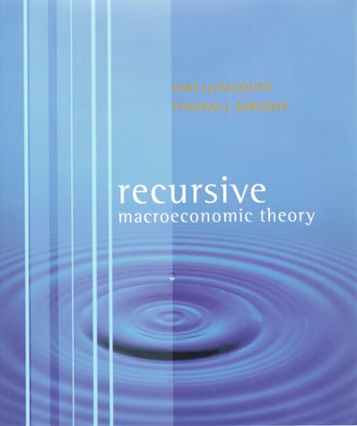Recursive Macroeconomic Theory   2000 9780262194518 Front Cover