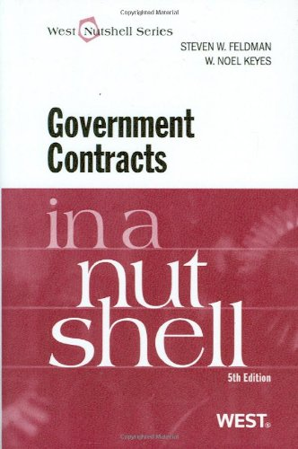 Government Contracts  5th 2011 (Revised) edition cover