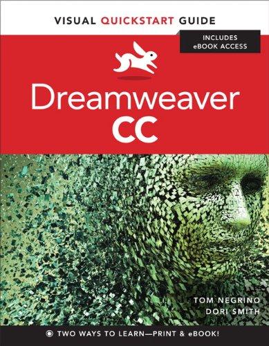 Dreamweaver CC Visual QuickStart Guide  2014 edition cover