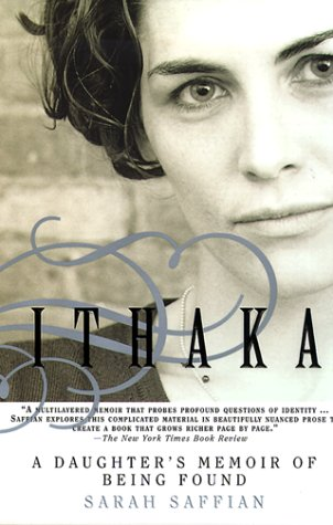 Ithaka A Daughter's Memoir of Being Found N/A 9780385334518 Front Cover