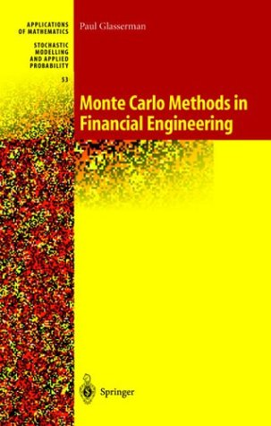 Monte Carlo Methods in Financial Engineering   2003 edition cover