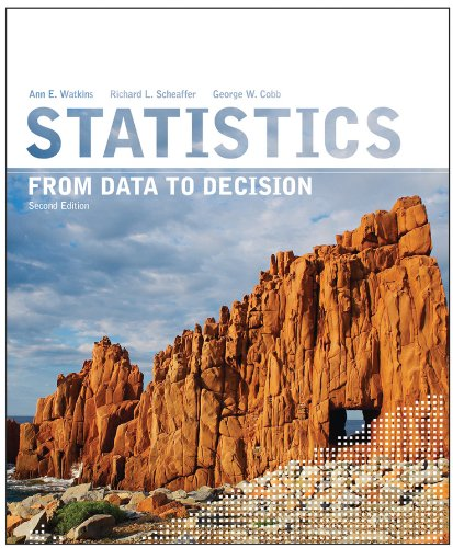Statistics From Data to Decision 2nd 2011 edition cover