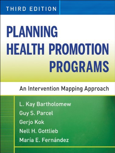 Planning Health Promotion Programs An Intervention Mapping Approach 3rd 2011 edition cover