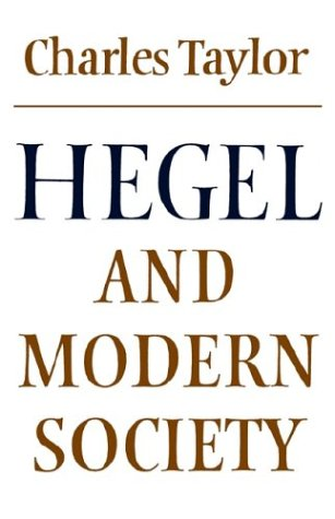 Hegel and Modern Society   1979 9780521293518 Front Cover