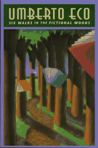 Six Walks in the Fictional Woods   1994 edition cover