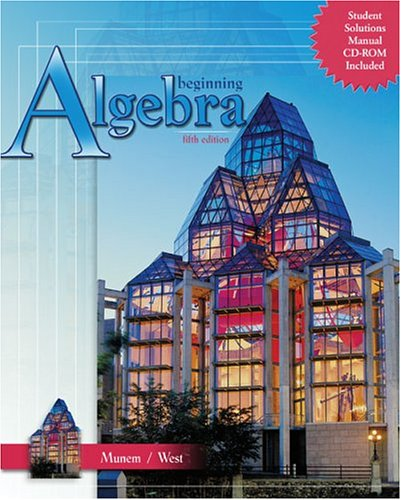 Beginning Algebra  5th 2004 (Revised) 9780757517518 Front Cover