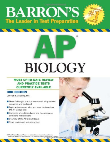 Barron's AP Biology  3rd 2010 (Revised) edition cover