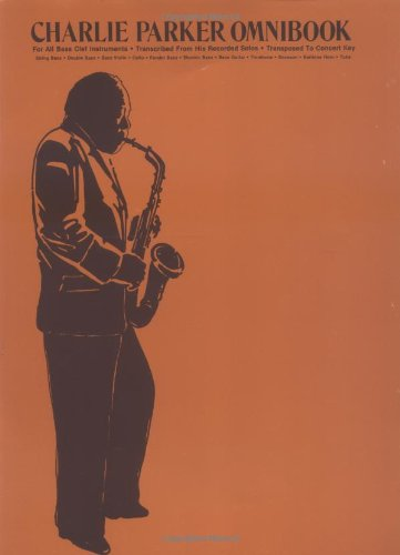 Charlie Parker Omnibooks Bass Clef  1987 edition cover