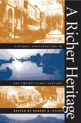 Richer Heritage Historic Preservation in the Twenty-First Century  2003 edition cover