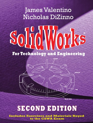 SolidWorks for Technology and Engineering  2nd 2012 edition cover