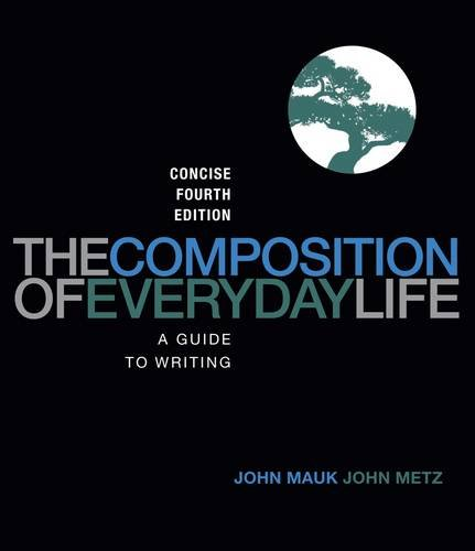 Composition of Everyday Life, Concise Edition  4th 2013 edition cover