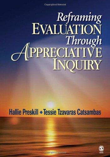 Reframing Evaluation Through Appreciative Inquiry   2006 edition cover