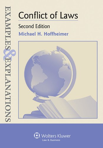 Conflict of Laws Examples and Explanations 2nd 2013 (Student Manual, Study Guide, etc.) edition cover