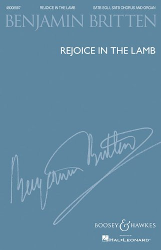 Rejoice in the Lamb  N/A 9781458424518 Front Cover