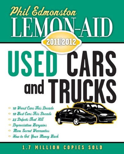Lemon-Aid Used Cars and Trucks 2011-2012  N/A 9781554889518 Front Cover