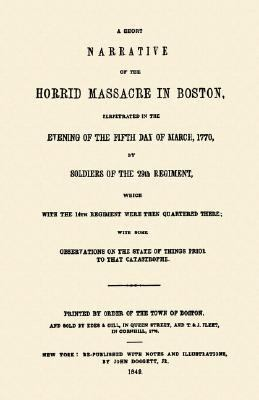Horrid Massacre in Boston  N/A 9781557099518 Front Cover
