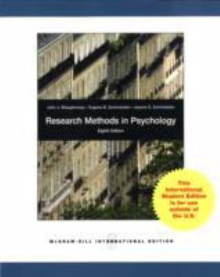 Research Methods In Psychology N/A edition cover