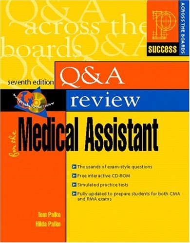 Prentice Hall's Health Question and Answer Review for the Medical Assistant  7th 2006 (Revised) edition cover