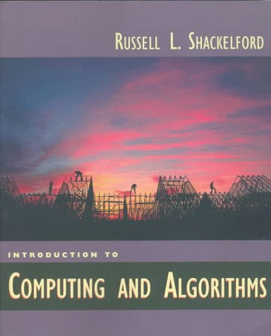 Introduction to Computing and Algorithms   1998 edition cover