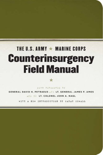 U. S. Army/Marine Corps Counterinsurgency Field Manual   2007 edition cover