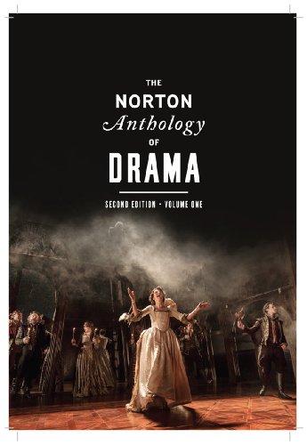 Norton Anthology of Drama  2nd 2014 edition cover