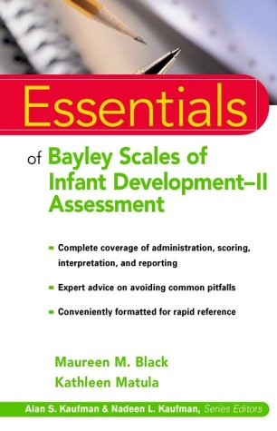 Bayley Scales of Infant Development-Ii Assessment   2000 9780471326519 Front Cover