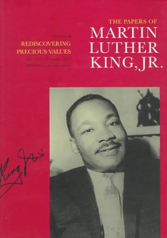 Papers of Martin Luther King, Jr. Rediscovering Precious Values, July 1951-November 1955  1994 edition cover