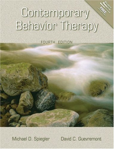Contemporary Behavior Therapy  4th 2003 (Revised) edition cover