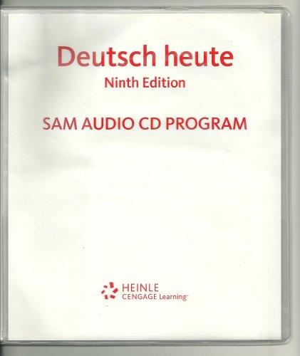 Deutsch heute sam audio CD Pgm9e  9th 2010 9780547180519 Front Cover