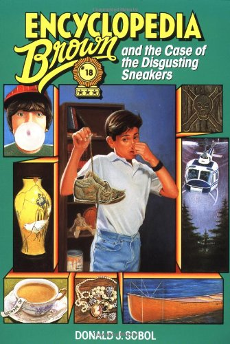 Encyclopedia Brown and the Case of the Disgusting Sneakers   1990 9780553158519 Front Cover