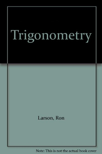 Trigonometry 7th Edition Plus Eduspace 7th 2007 9780618796519 Front Cover