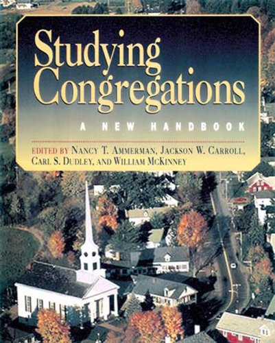 Studying Congregations A New Handbook N/A edition cover
