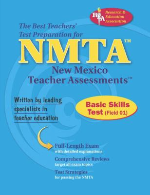 NMTA Basic Skills Test (Field 01)  N/A 9780738601519 Front Cover