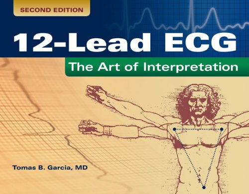 12-Lead ECG The Art of Interpretation 2nd 2015 (Revised) edition cover