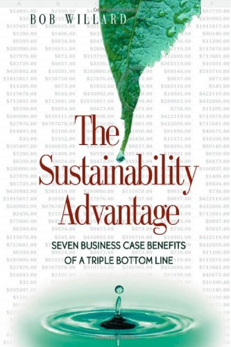 Sustainability Advantage Seven Business Case Benefits of a Triple Bottom Line  2002 edition cover