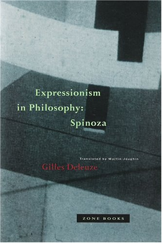 Expressionism in Philosophy Spinoza N/A 9780942299519 Front Cover