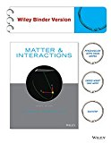 Matter and Interactions:   2015 9781118914519 Front Cover