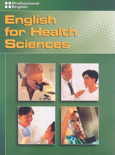 English for Health Sciences   2007 9781413020519 Front Cover