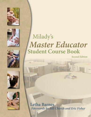 Milady's Master Educator Student Course Book 2nd 2009 edition cover